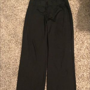 Black Varsity Warm Up Pants